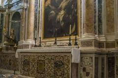 Cripta della Cattedrale di Gaeta - altare