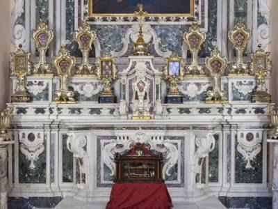 Particolare Cappella Madonna del Carmelo esplora la Cattedrale - Copia