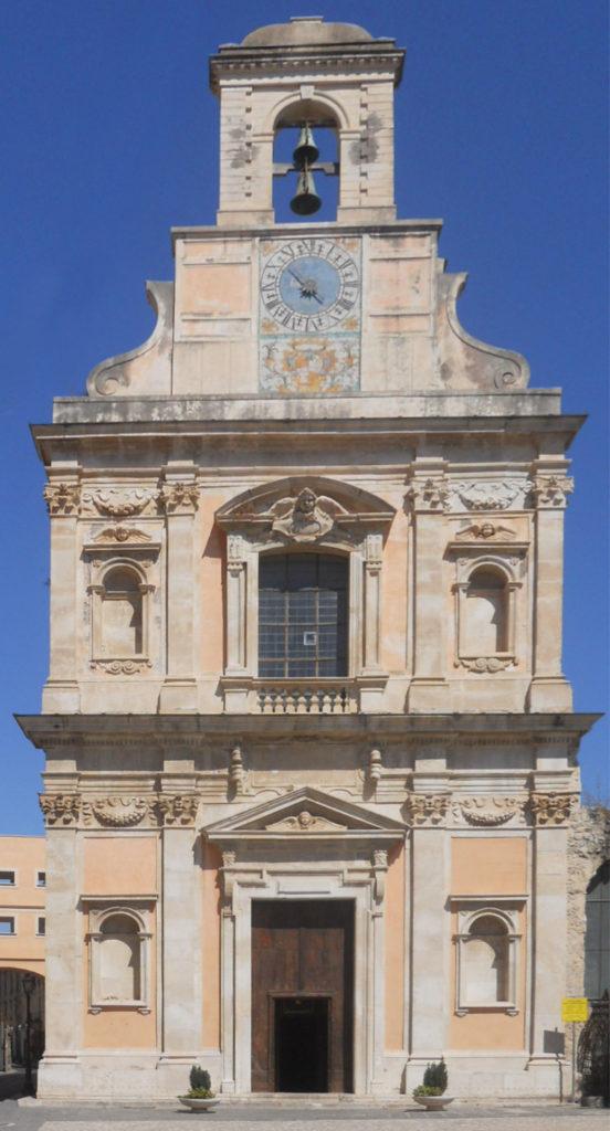 Facciata Santuario Santissima Annunziata Gaeta